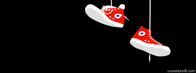 Dessin Converse rouges