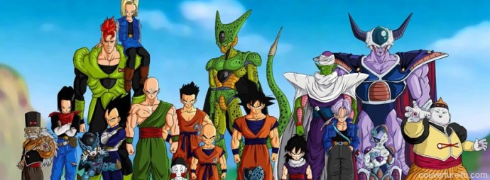 Dragon ball Z : Groupe de combattants Cell et Freezer