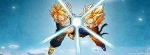 Kameha Trunks et Sangoten