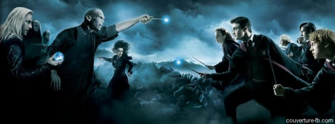Harry Potter combat Voldemort