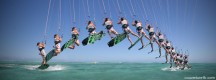 Figure Kite Surf