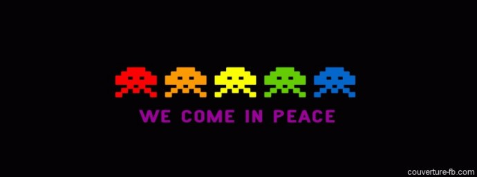 Space Invaders – We come in peace