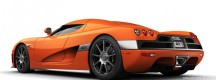 Voiture Koenigsegg CCX orange