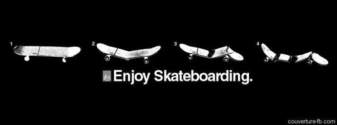 Skateboard Enjoy 4 étapes