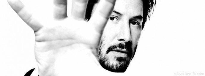 Keanu Reeves se cache