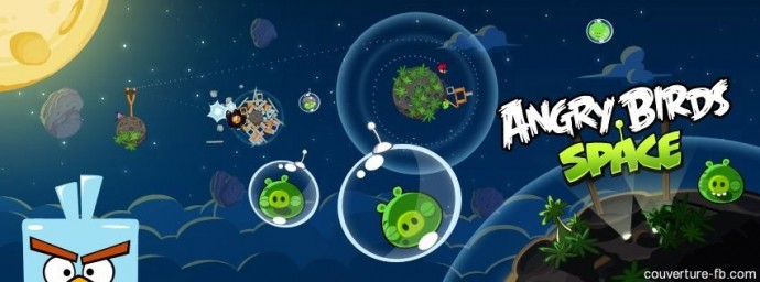 Angry Birds Space bulles cochons