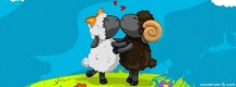 Bisous moutons