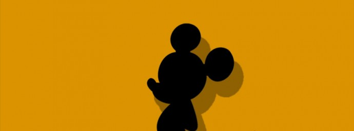 Ombre Mickey Mouse