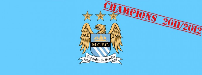 Manchester City Champions 2011/2012
