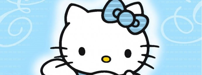 Hello Kitty Bleue