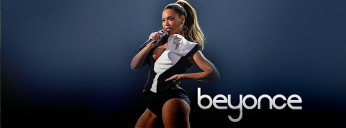 Beyonce chante