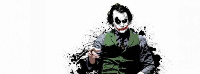Joker Heath Ledger en dessin
