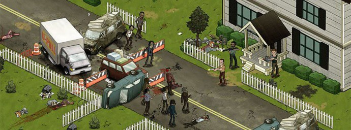 Jeu Facebook The Walking Dead