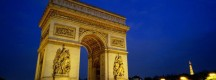Arc de triomphe de paris illuminé