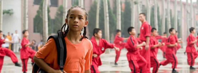 Jaden Smith dans Karate Kids