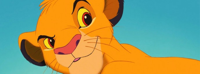 Simba jeune le roi Lion