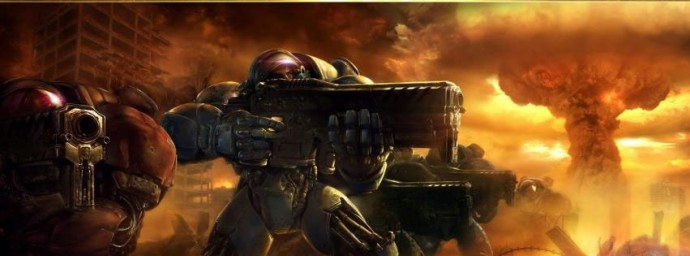 Starcraft 2 attaque terrans