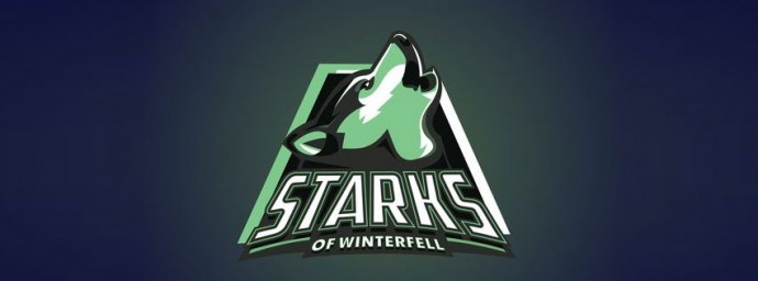Starks de Winterfell logo