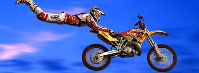Superman Motocross