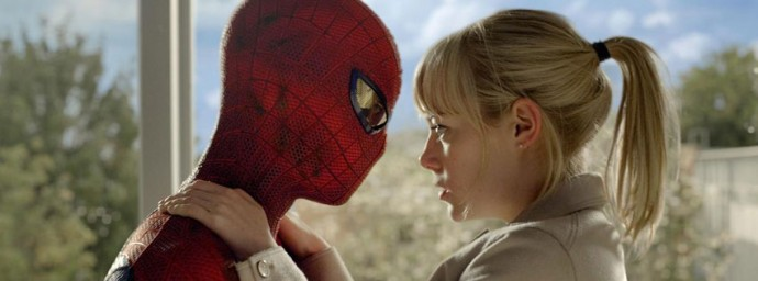 The Amazing Spiderman kiss