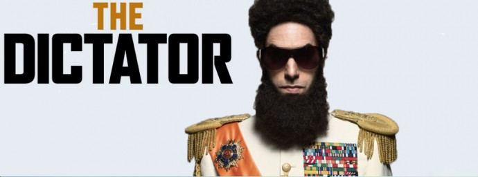 Couverture The Dictator