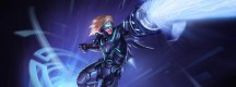 Skin futuriste Ezreal League of Legends