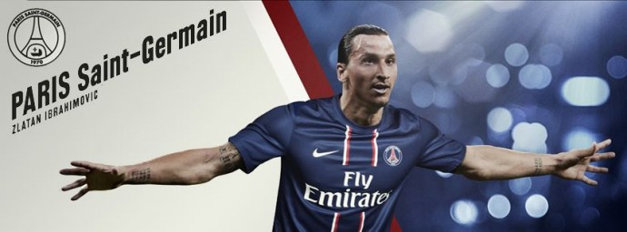 Couverture PSG Zlatan Ibrahimovic