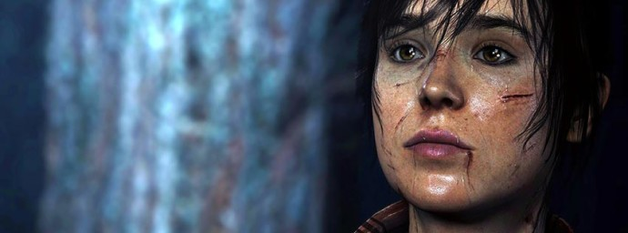 Jodie blessée Beyond Two Souls