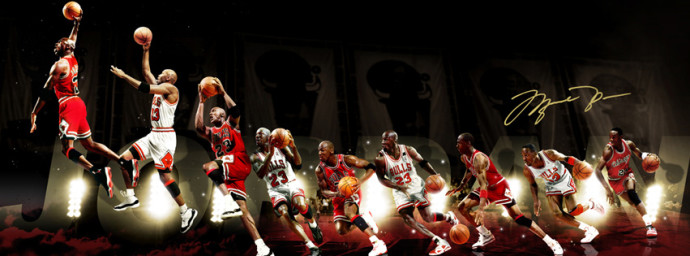 Evolution Michael Jordan
